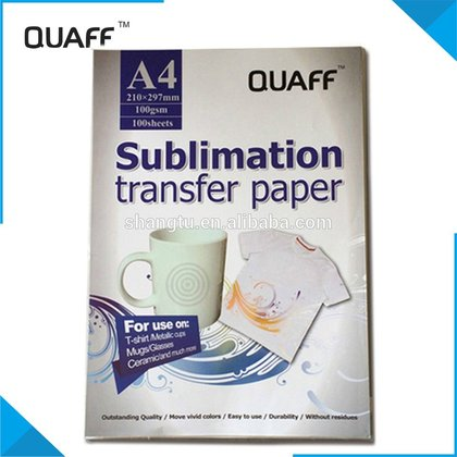 QUAFF Sublimation Transfer Paper A4