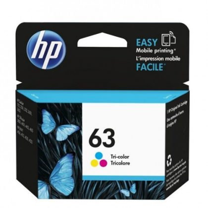HP 63 color Original Ink Cartridge