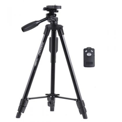 Mobile Tripod With Bluetooth Remote Control (VCT-5208)
