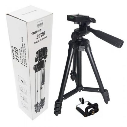 Mobile Tripod 3120A With Phone Holder