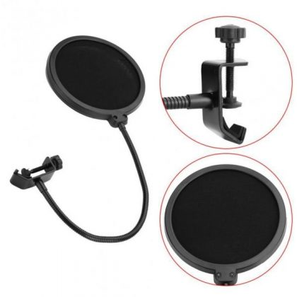 Wind Pop Filter For Microphone