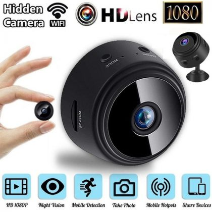 A9 WIFI MINI SPY CAMERA HD 1080P NIGHT VISION CAMERA