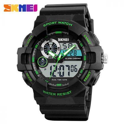Skmei 1312 Army Chronograph Multifunction Sport Wristwatch