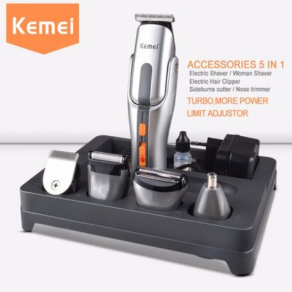 KM-680A Kemei 8 In 1 Grooming Kit Shaver/Trimmer