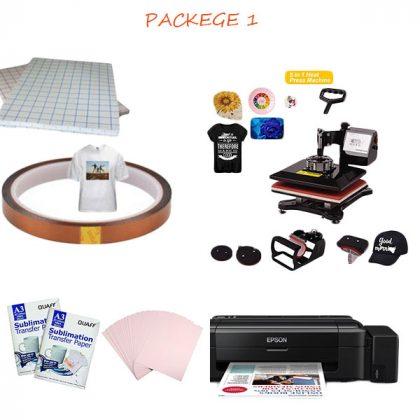 Heat Press Machine Combo package 1