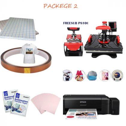 Heat Press Machine Combo package 2