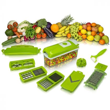 Genius Nicer Dicer Plus All-In-One Vegetable Cutter